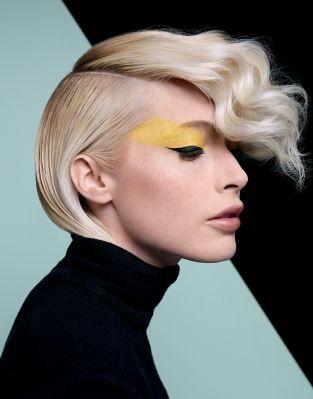 SCULPTURALE - Collection automne-hiver 2014-2015 - DESSANGE PARIS   Dessange coiffures, Dessange ...