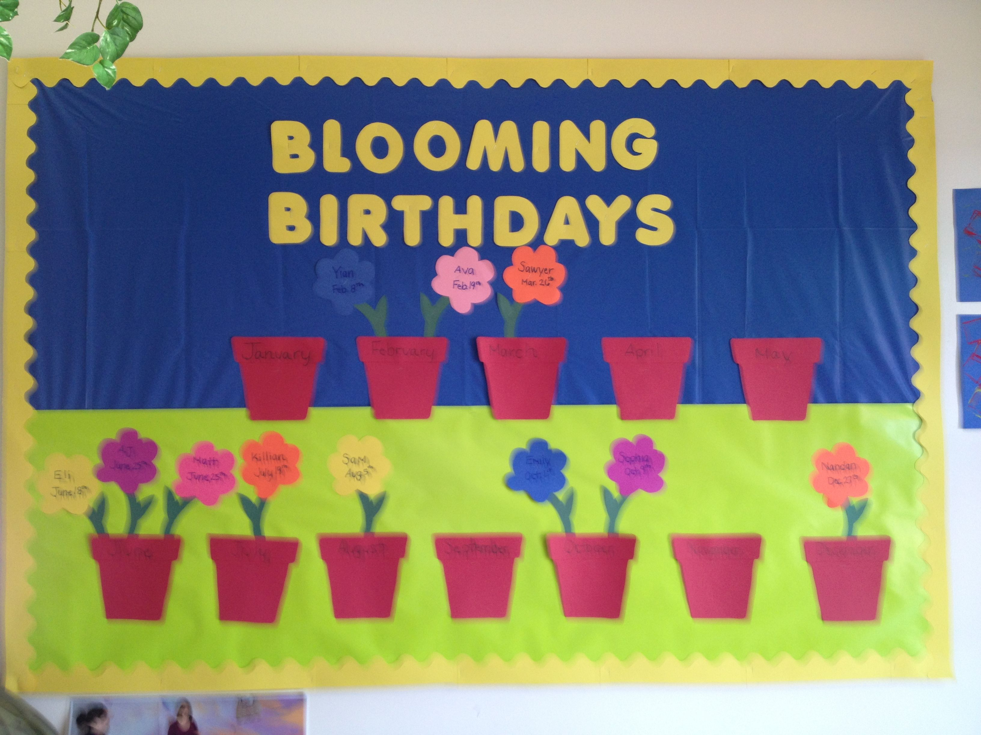 Pin By Belle Chen On Bulletin Boards And Doors Birthday Bulletin Boards Birthday Bulletin Birthday Board Classroom