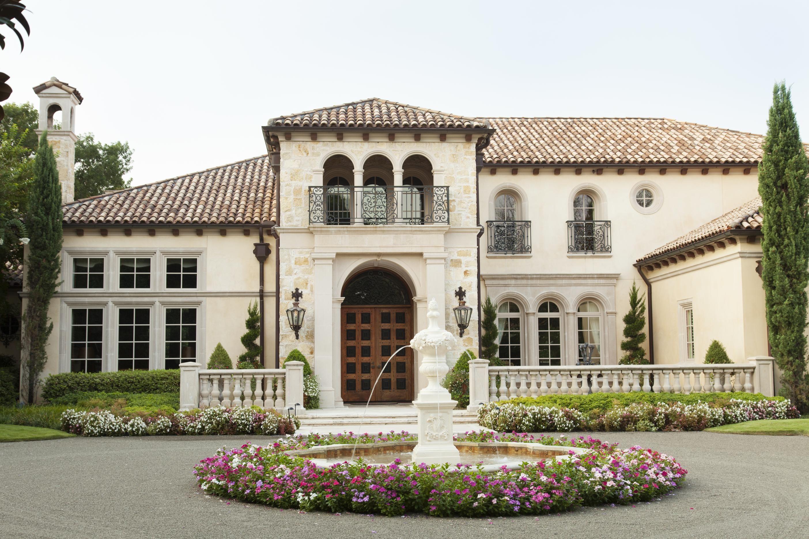 Stylish Mediterranean Exteriors Mediterranean House Plans