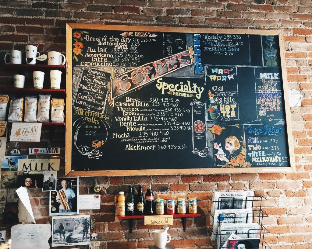 Creating A Coffee Shop Menu With Images Coffee Shop Menu Cozy