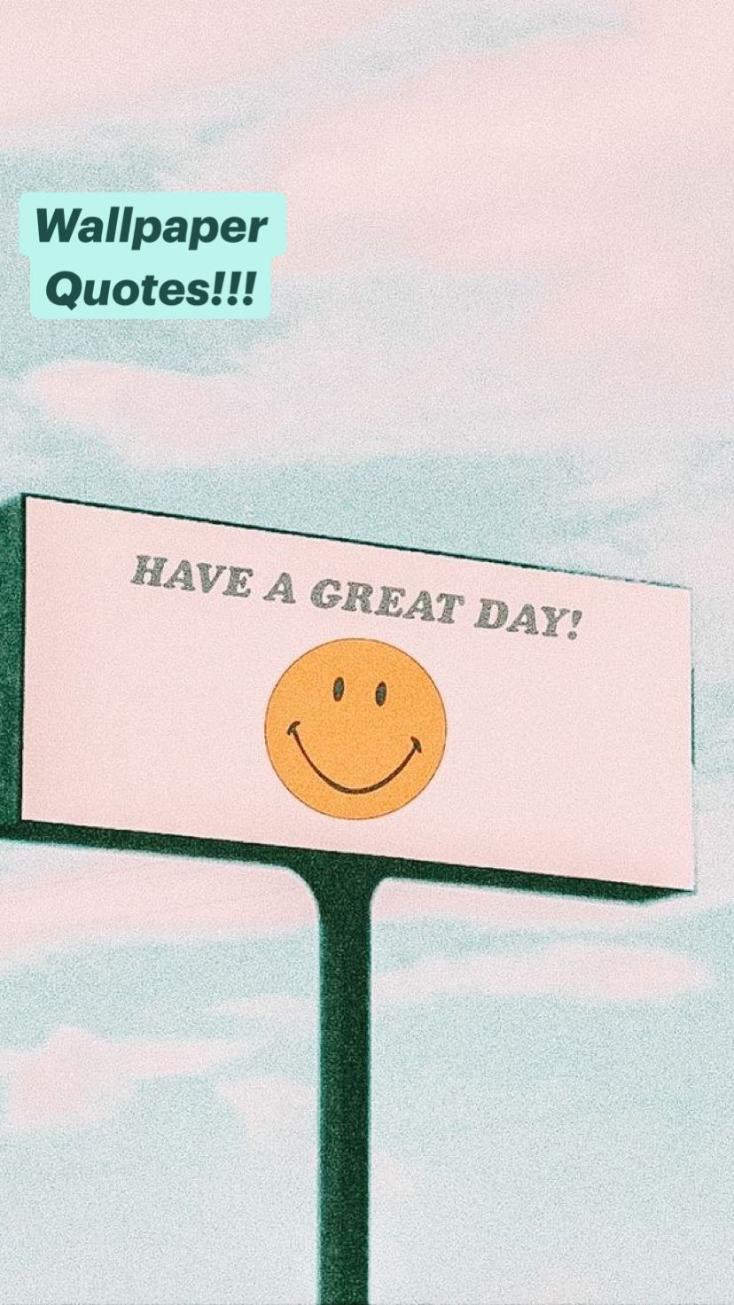 Wallpaper Quotes!!!