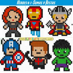 Pixel Heroes 1 Sumas Y Restas Dragon En Punto De Cruz Pixel Art Punto De Cruz