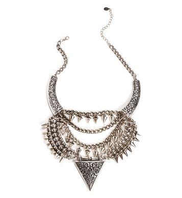 Pre-Order: Vintage Triangle Necklace Set