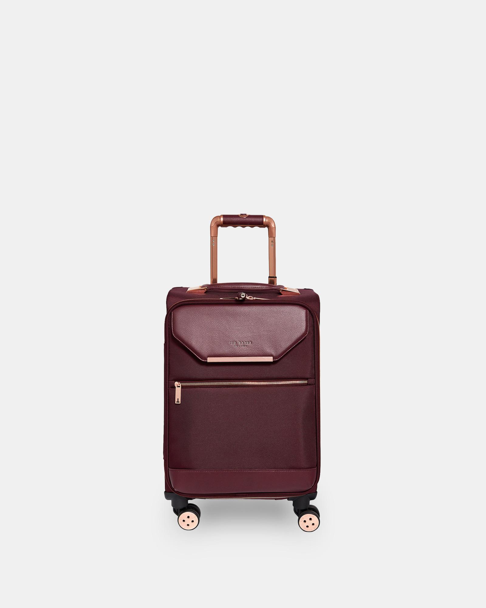 e3feb893d828 Metallic Trim Small Suitcase