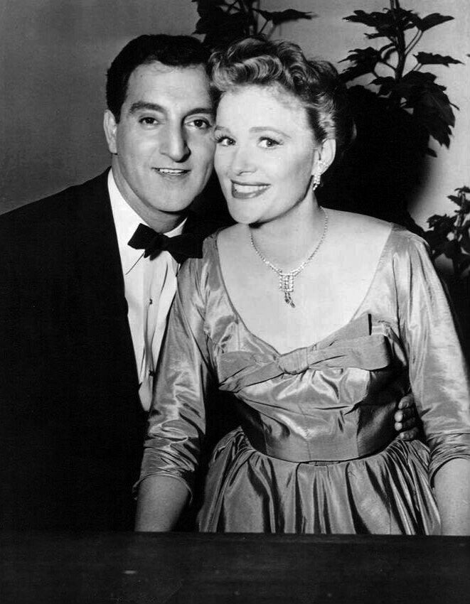 "Jean Hagen, Danny Thomas ' s first wife on ""Make Room  for  Daddy  TV show ."