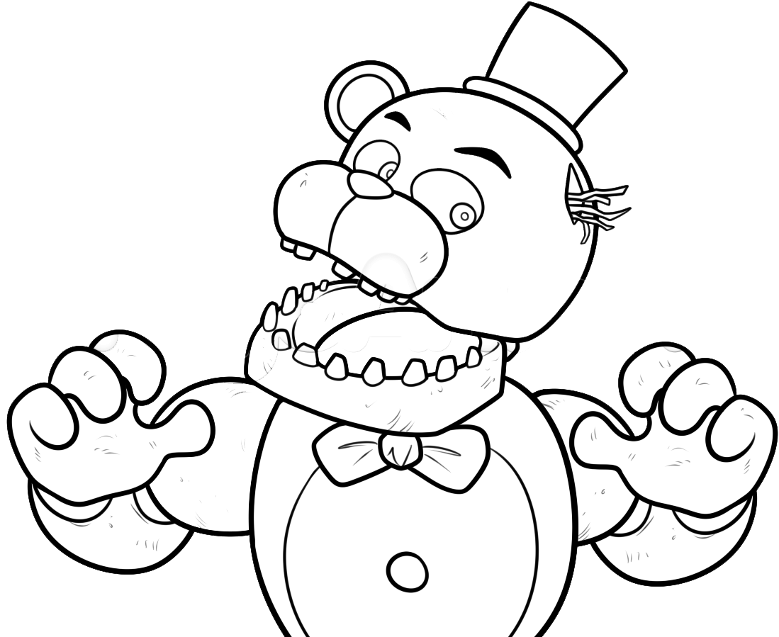 F Naf Withered Foxy Coloring Pages Fnaf Coloring Pages Coloring Pages Coloring Books