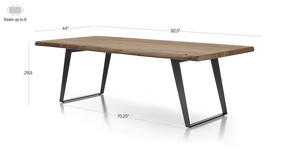 Yukon Natural Dining Tables 家具 In 2019 Dining Table