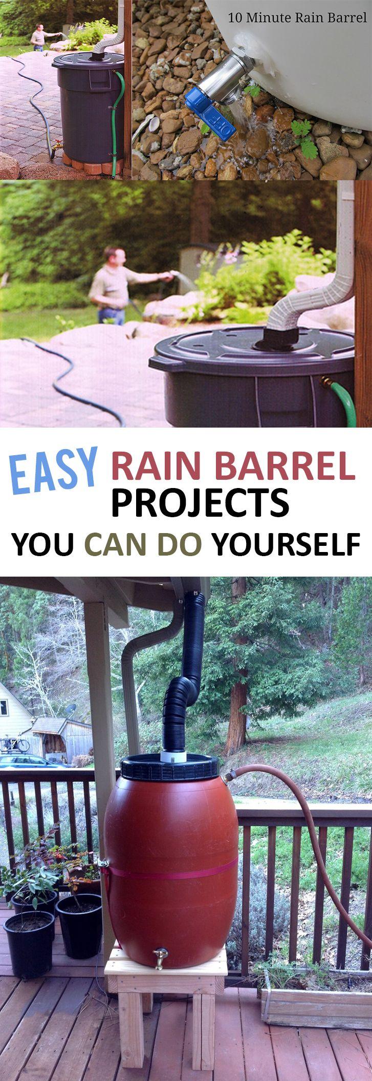 Easy rain barrel projects you can do yourself riego bicis casero solutioingenieria Gallery