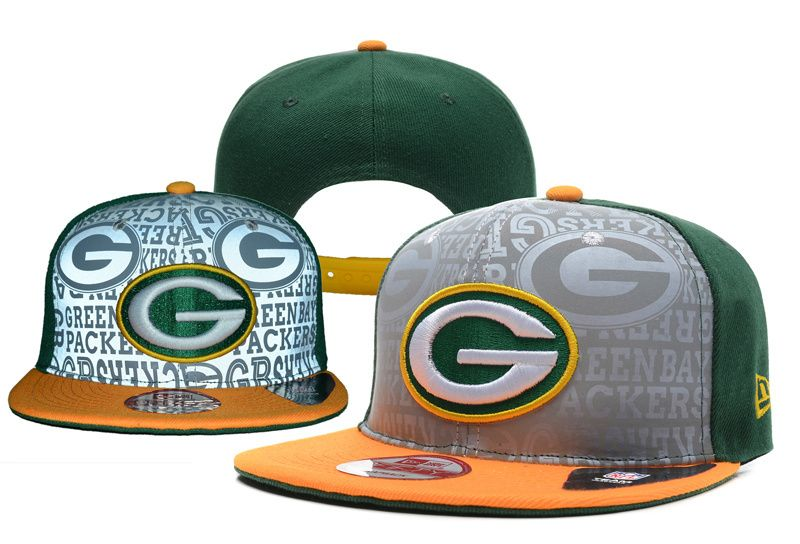 Green Bay Packers New Era 9fifty 2014 NFL Draft Collection Highly Reflective Surface Snapback Cap