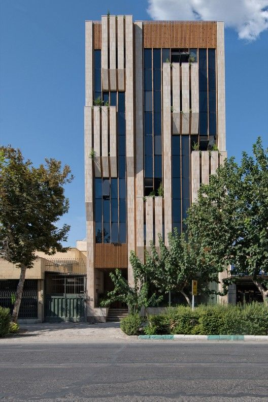 Jey Official Building Sarsayeh Architectural Office Architecture