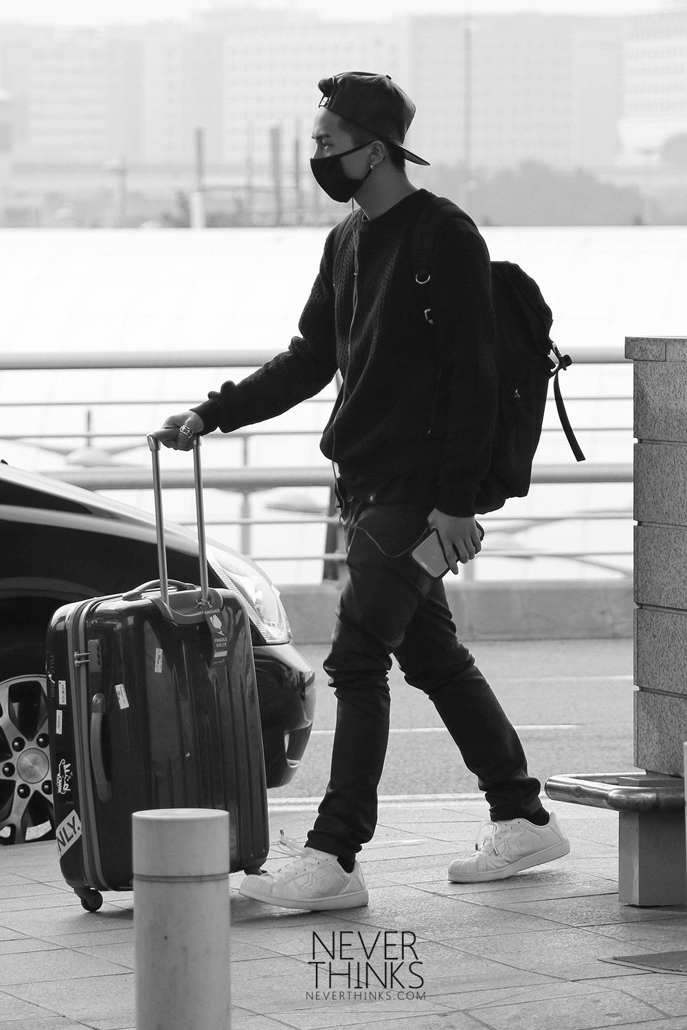 Mino Predebut Hq 140426 Incheon Airport Heading To Taiwan