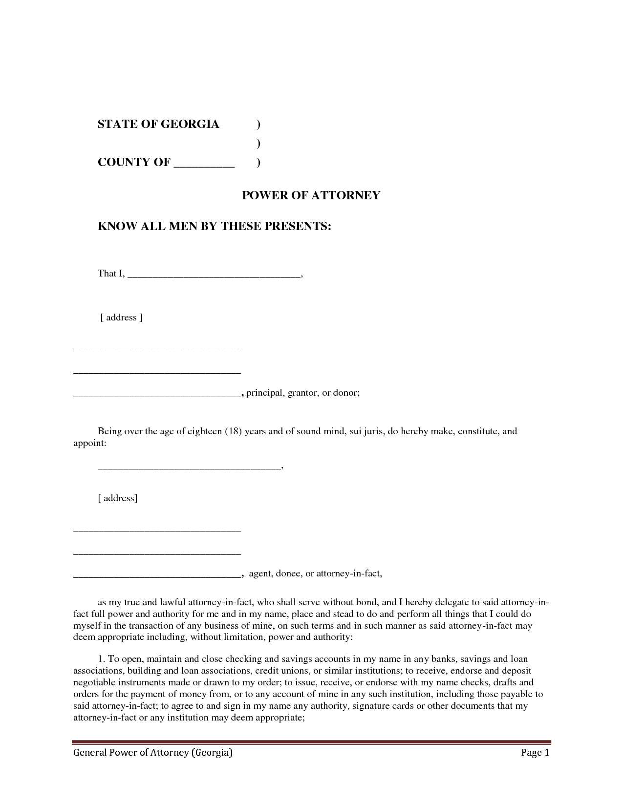 Attorney  LawyerS Information Portal  Letter Of Attorney