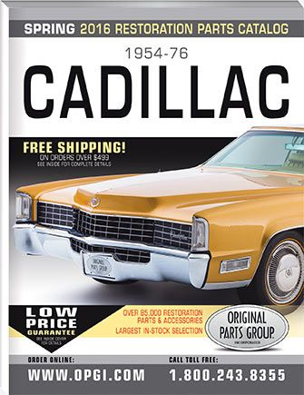 1954-76 Cadillac Parts Catalog | OPGI Catalogs | Pinterest ...
