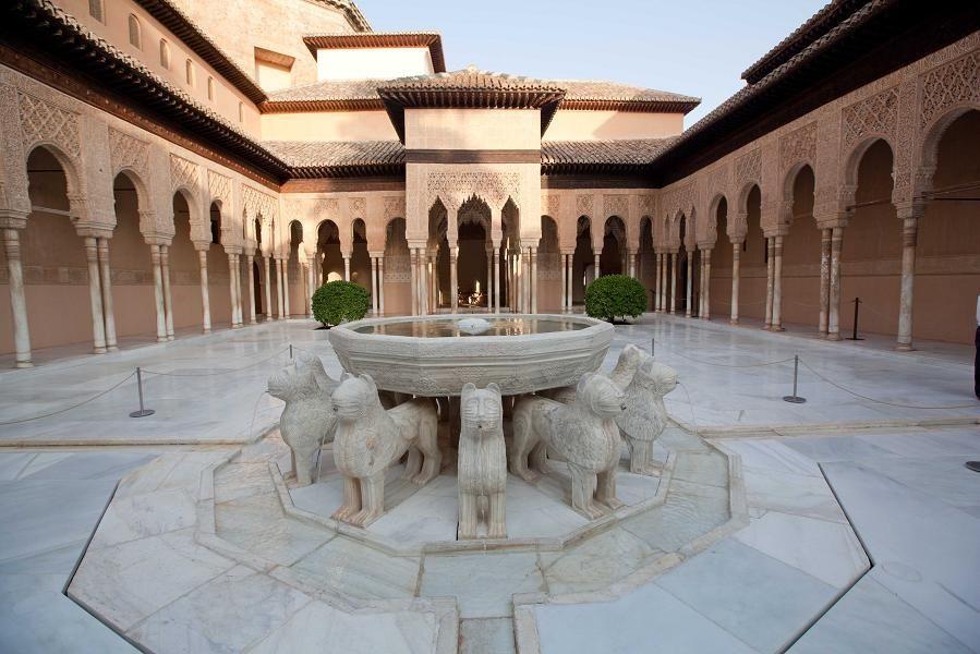 Leyenda Del Patio De Los Leones De La Alhambra Alhambra