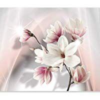 murando Fototapete Blumen 350x256 cm Vlies Tapete