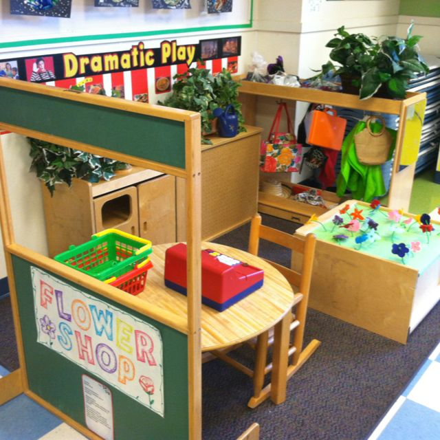 Classroom Decorations Store ~ Dramatic play enrichment flower shop my classroom