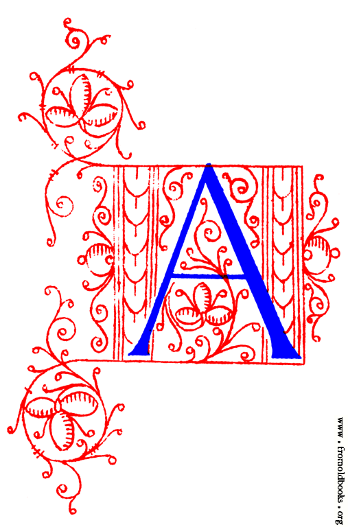 Medieval Illuminated Letters H | Coloring Pages For Kids ...