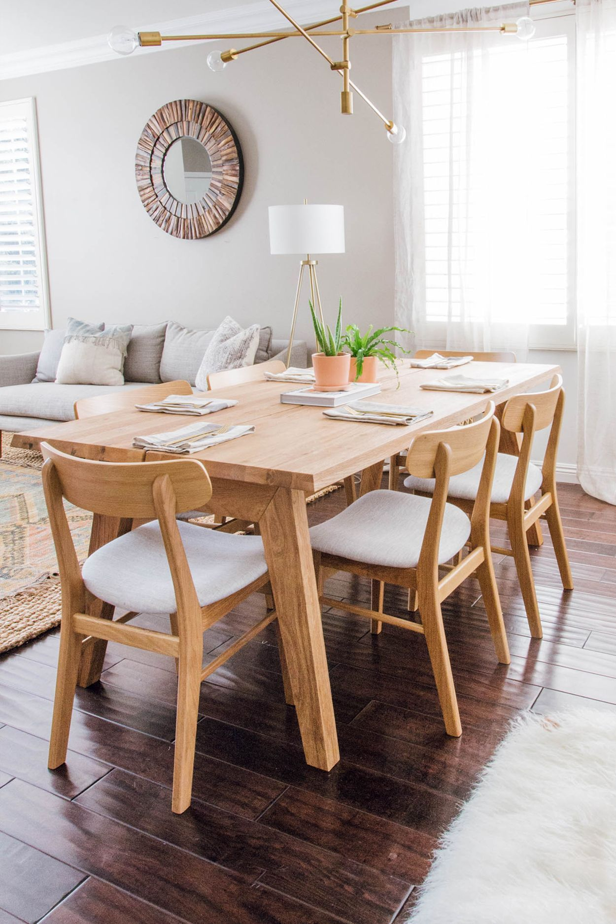 Madera Oak Dining Table For 6 Wood Dining Room Oak Dining Table Wood Dining Room Set