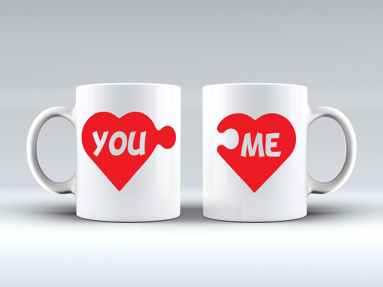 Heart Puzzle Coffee Mug Valentine Mug Valentine White Mug Couple Mugtag Someone Who Would Love This Valentines Mugs Valentine Gifts Valentine