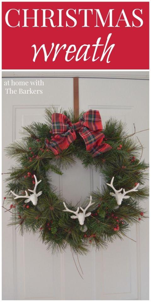 Christmas Wreath DIY Christmas, Wreaths and Ornament