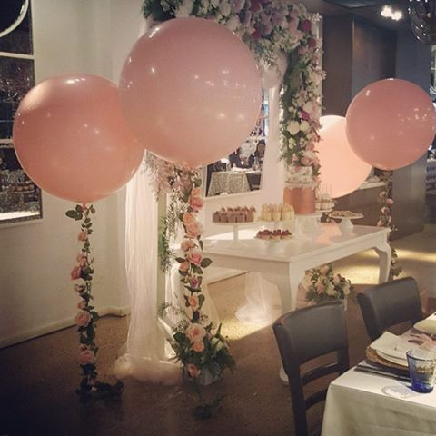 Pretty Paris theme 90 cm balloons all weekend FOR VENDOR DETAILS