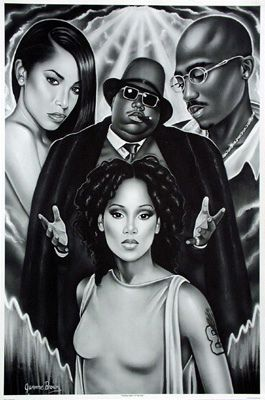 aaliyah, left eye, biggie, tupac in 2019 | music legends,R ...