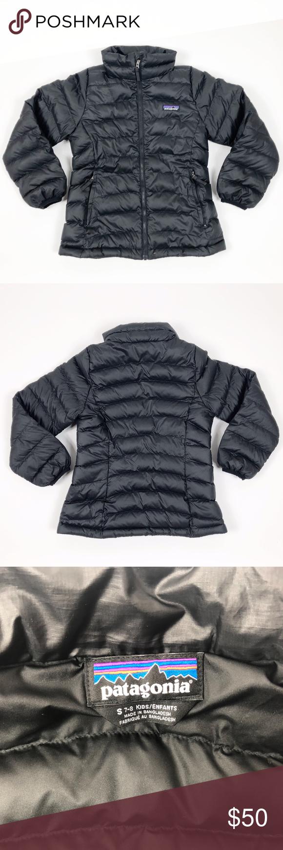 Patagonia Kids Puffer Black Jacket Size 7 8 Black Jacket Patagonia Kids Kid Puffer [ 1740 x 580 Pixel ]