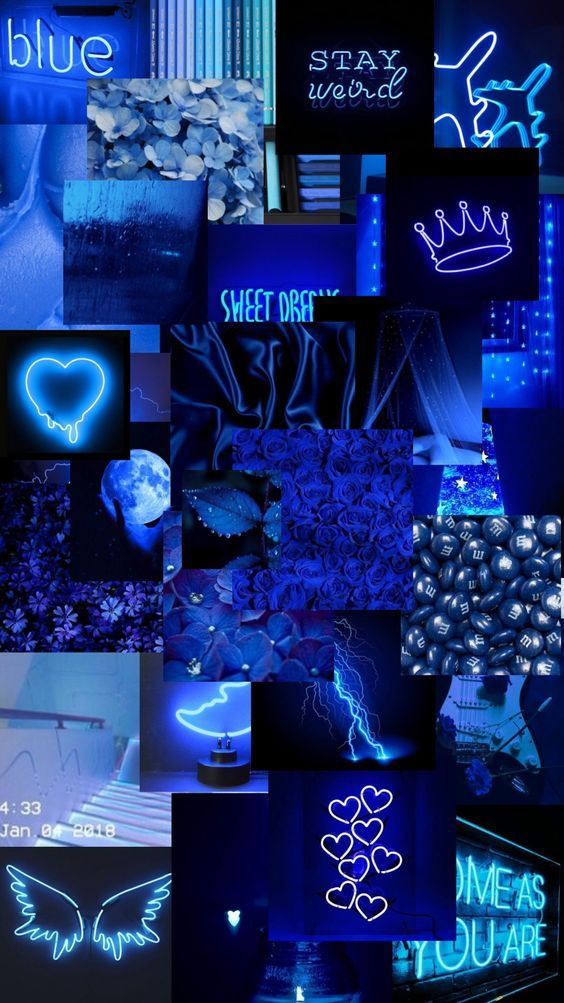 Blue Aesthetic Pictures For Wall Collage Blue  Pastel Blue Aesthetic  Blue Wallpaper blue aesthetic,