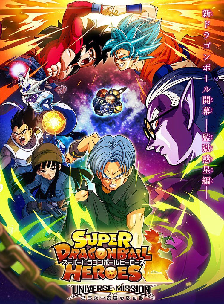 Pin En Dragon Ball Heroes 2018 00 Sub Espanol Mega