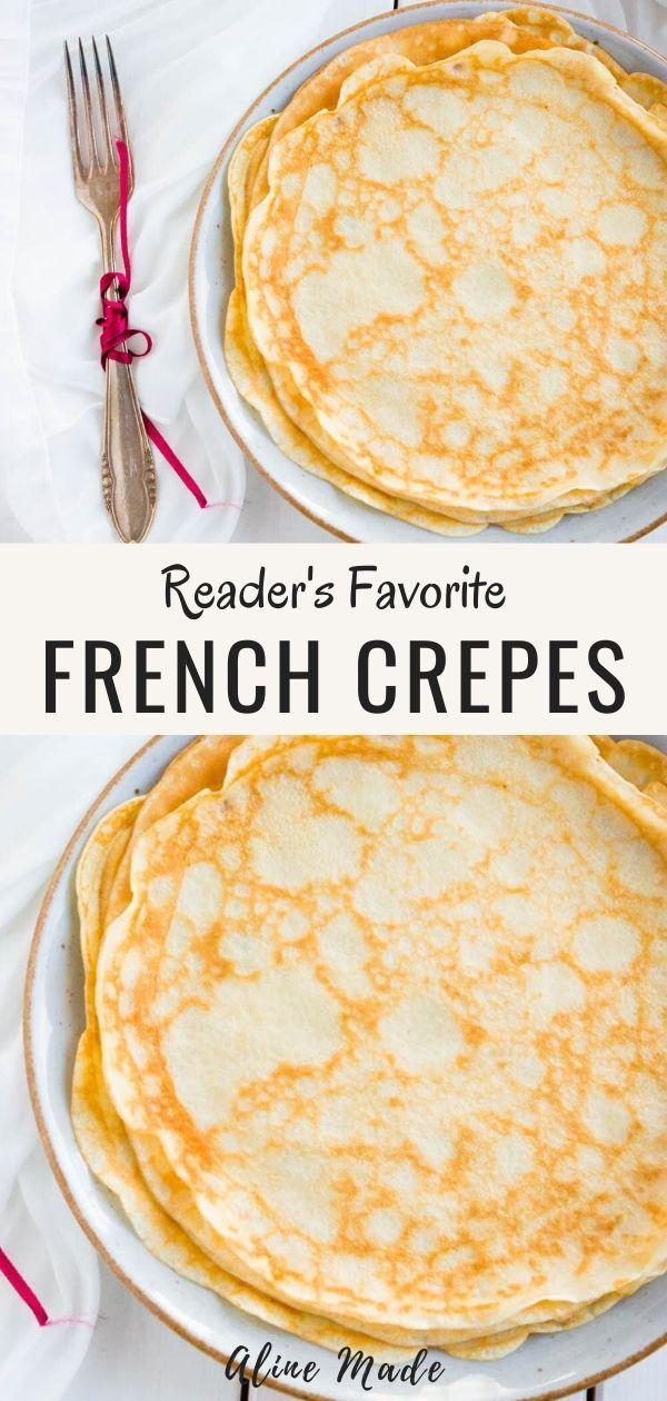 Photo of Basic French Crepe Recipe & Secret Batter Tip | Aline Made