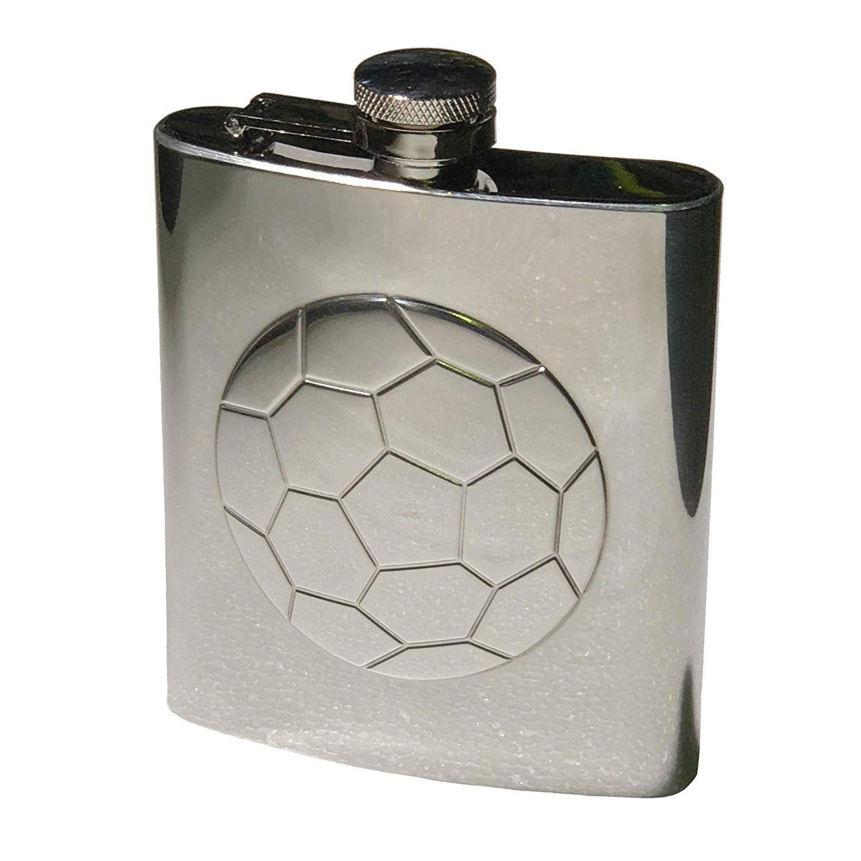 Garden 2 Home Football Hip Flask - SALE!!!: Amazon.co.uk ...