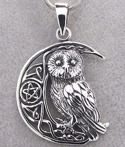 Sterling silver owl pendant necklace owl jewelry by ebay sterling silver owl pendant necklace owl jewelry by ebay aloadofball Image collections