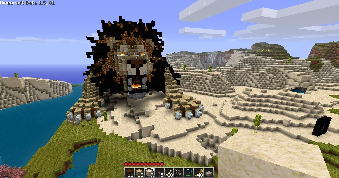 Lion Statue Survival Mode Minecraft Discussion Minecraft