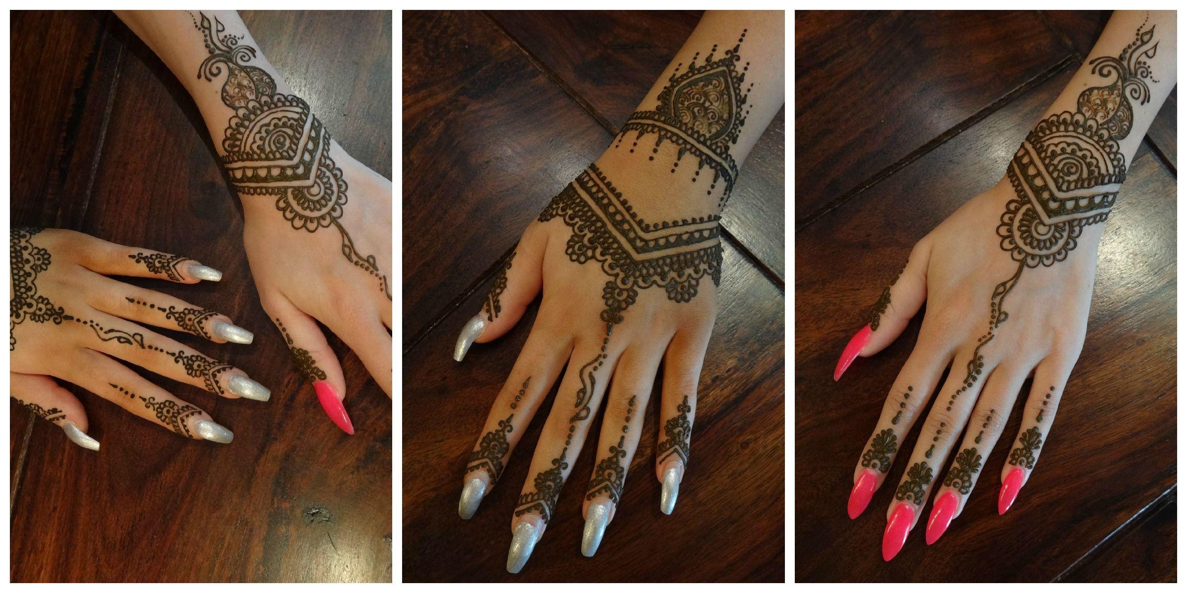 Henna Tattoo Kaufen Basel: Single Mehndi, Maroccon Fusion Style Mostly Younger Ladies