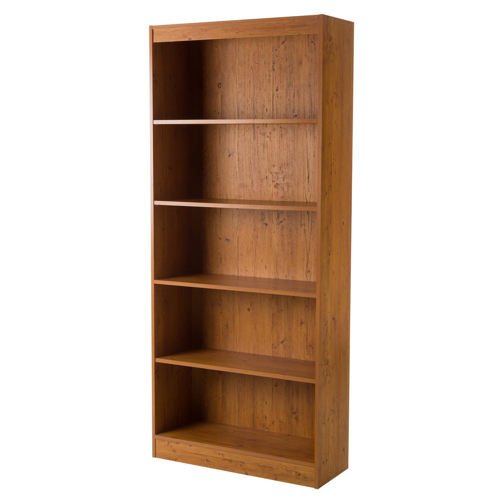 South Shore Axess 5 Shelf Bookcase Bedroom In 2019 5
