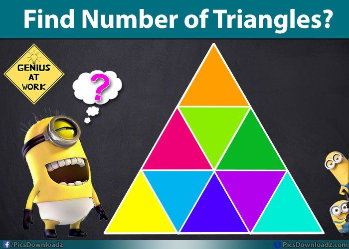Find the number of Triangles - Brain Teasers Puzzles with Answer ...