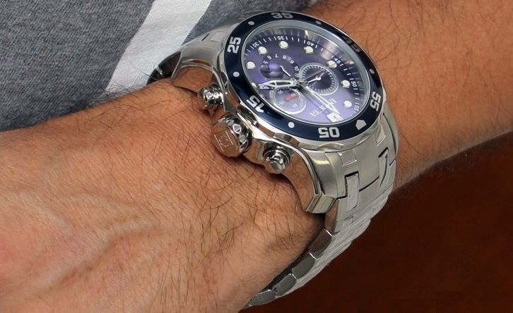 4fd6deac734 Invicta Men s 0070 Pro Diver Collection Chronograph Watch