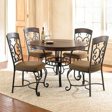 Bring The Romantic Look Of Wrought Iron To The Table With The Greco Dining Collection Featuring