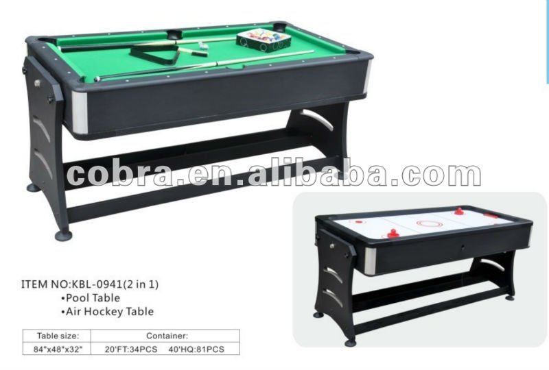 6ft Or 7ft Reversible Pool And Air Hockey Table 2 In 1 Full Sets Accessory Air Hockey Air Hockey Table Sunnydaze Decor