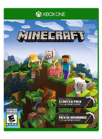 Microsoft Minecraft Starter Collection Xbox One Xbox One Games Xbox Xbox One Console