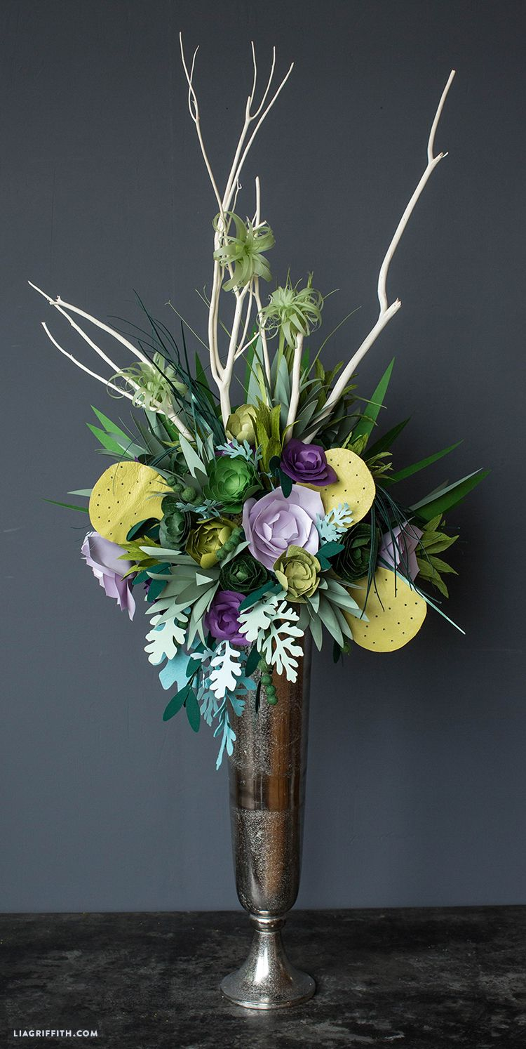 Giant Paper Flower Bouquets for Cricut | Pinterest | Flower bouquets ...