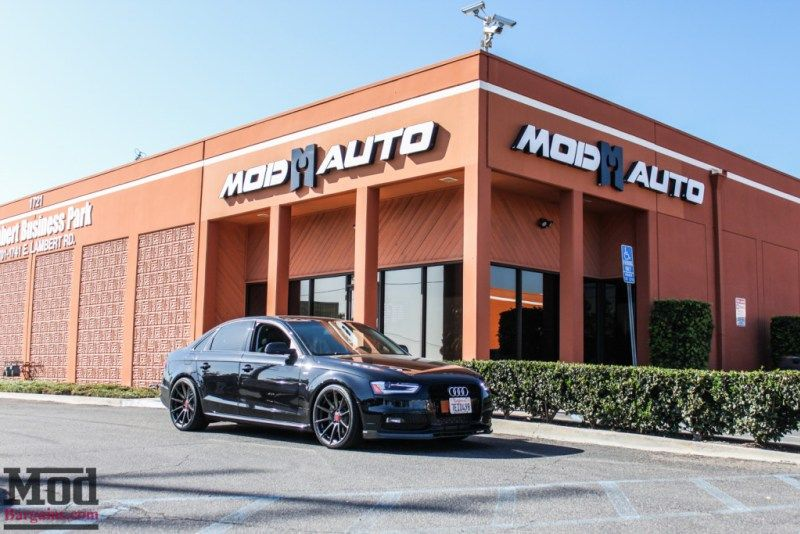 Audi B8 A4 2 0t Awe Exhaust Carbon Diffuser Modauto Exhausted Audi Aftermarket Wheels
