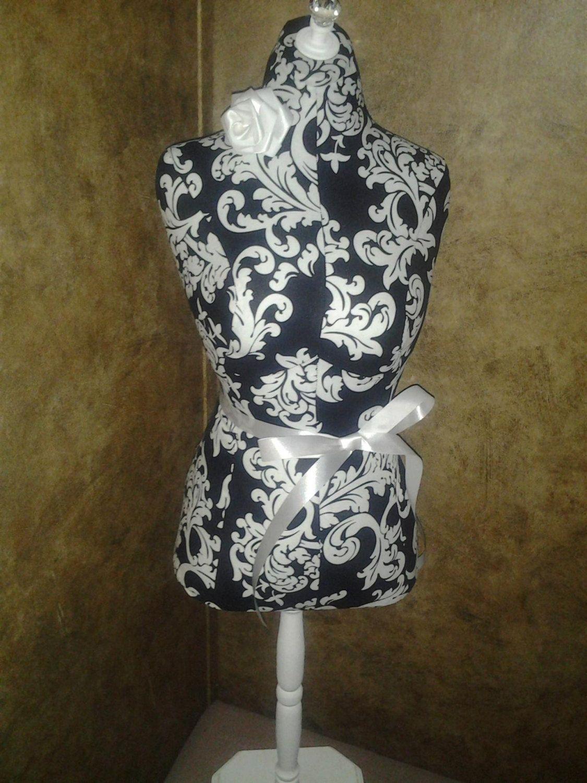 Boutique Black Flourish Dress Form 22 Craft Decorative Designs