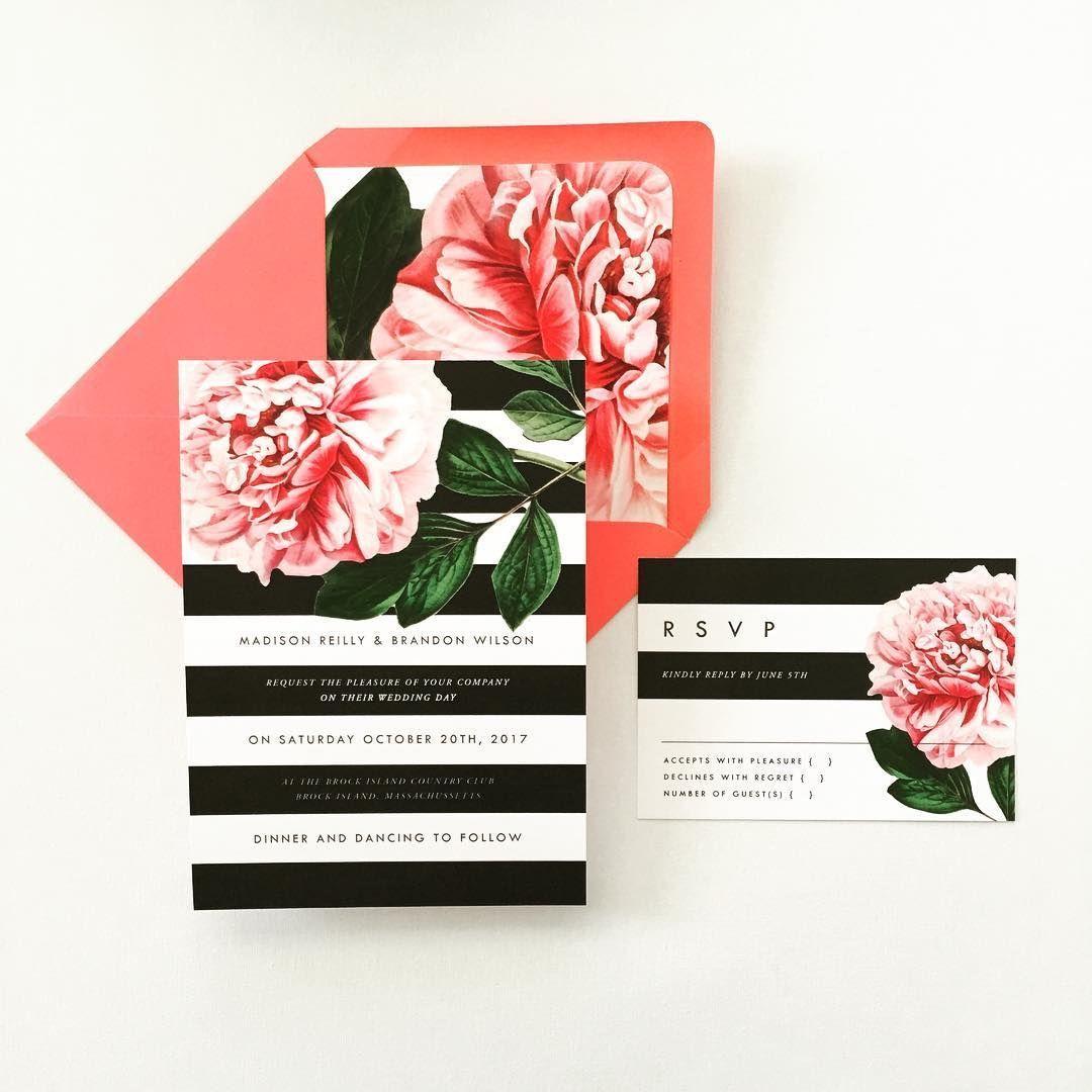 Stripes and Peonies! Oh My! A botanical mixture of loveliness! In the shop soon... ______________________________________  #etsyseller #etsy #citruspressco #botanical #flowers #wedding #weddingstyle #weddingplanner #roses #love #instalove #stationery #invitations #thatsdarling #smitten #ido #gettingmarried #designer #vintage #modern #happyfriday #weddingstyle #springwedding #weddinginvitations #marble #peony #blush #etsywedding #stripes #blackandwhite #design #stationery