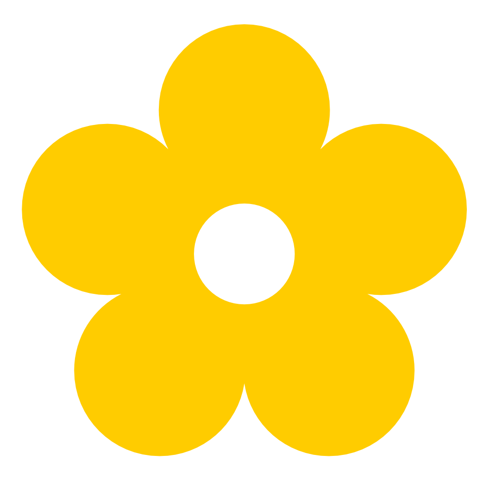 Collection Of Free Colored Clipart Yellow Download On Ubisafe Png Flower Clipart Clip Art Flower Clipart Png
