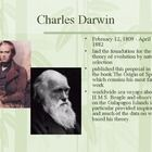 Darwin The Voyage Of The Beagle Powerpoint Voyage Charles