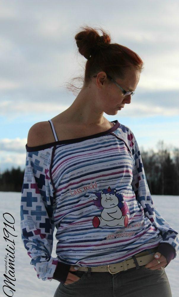 Foto zu Schnittmuster Raglan Sweater Fjella von Mamili1910 ...