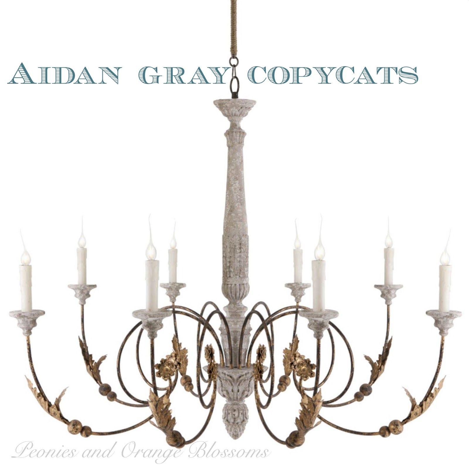 Restoration Hardware and Aidan Gray Copycat Chandeliers