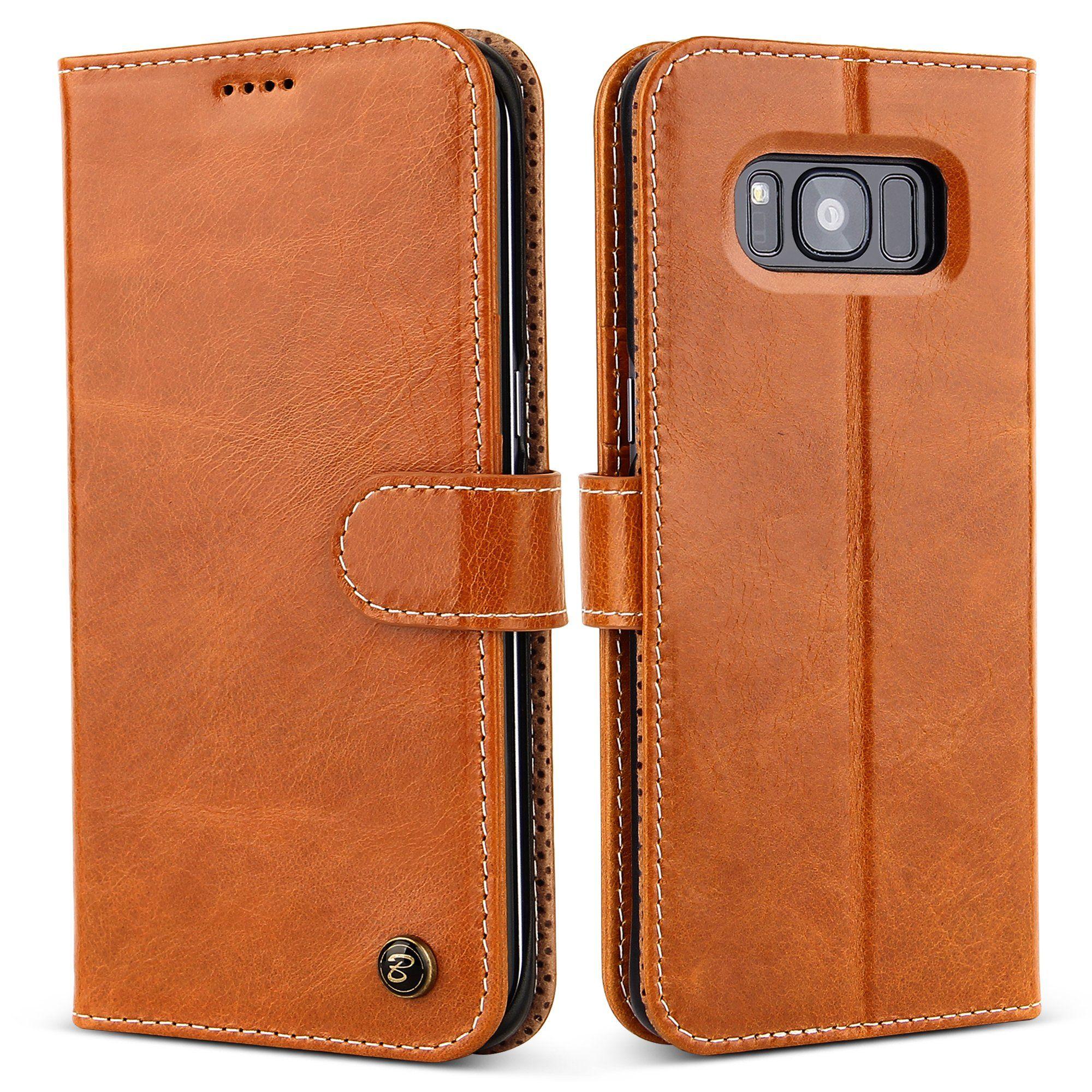 Galaxy S8 Case Belk Concise Vintage Genuine Leather Slim Flip Goospery Samsung Plus Fancy Diary Brown Black Wallet Cover Protective Pc
