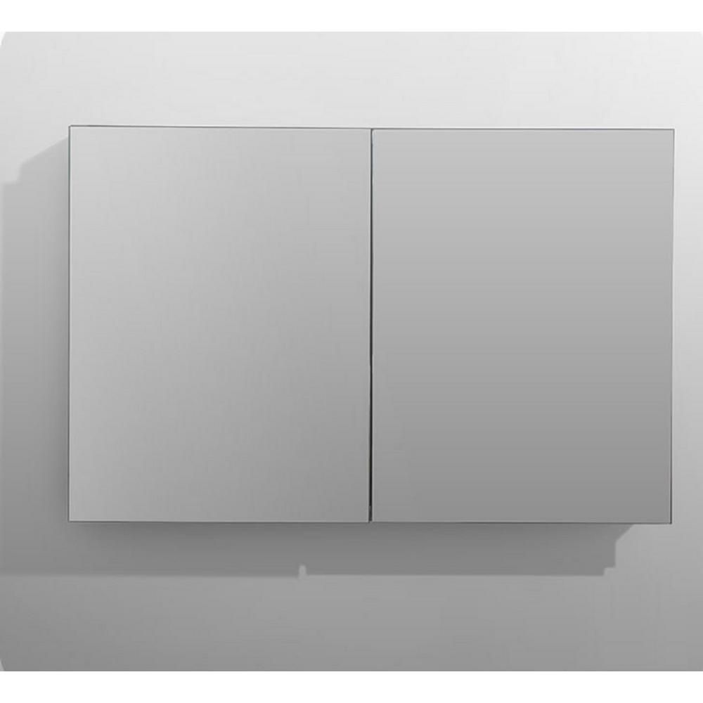 Aquadom Royale 48 In W X 30 In H Recessed Or Surface Mount Medicine Cabinet With Bi View Doors R 4830 The Home Depot Surface Mount Medicine Cabinet Adjustable Shelving Recessed Medicine Cabinet